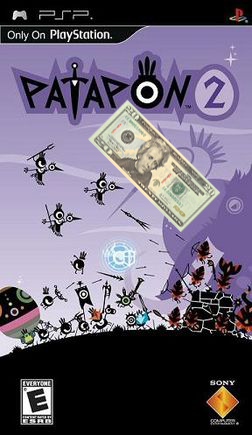 A single Jackson (plus tax) will net you Patapon 2!