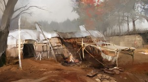 ACIII_MohawkVillage_CONCEPT ART