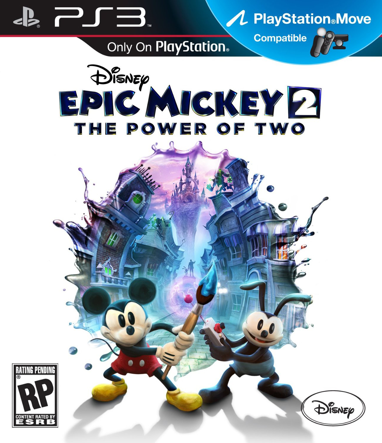 Image result for epic mickey 2 ps3 cover