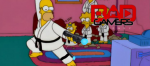 Simpsons Couch Karate