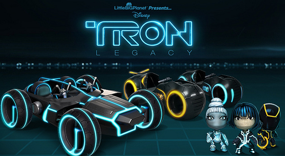 LBP Tron This is so late Movie and game are old so dumb