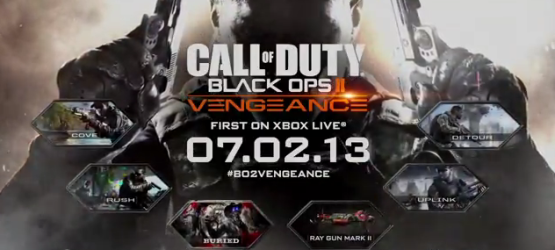 Call of Duty: Black Ops 2 'Vengeance' DLC Revealed: Includes 4 New Multiplayer Maps, 1 New Zombies Map, Ray Gun Mark II
