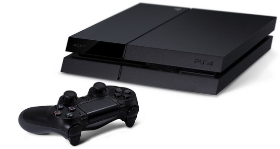 playstation4consolelayingflat
