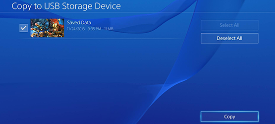 How To Backup and Transfer PS4 Game Saves Using a USB Drive