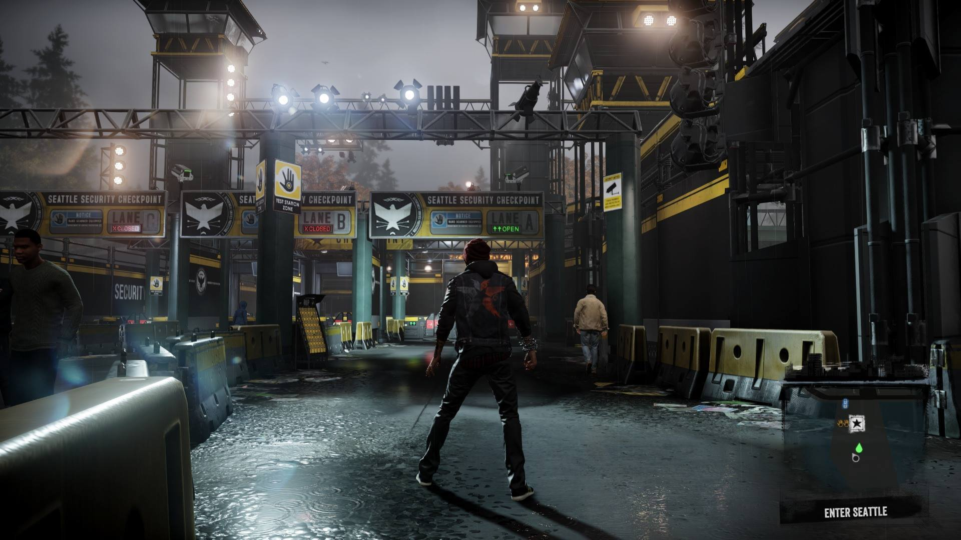 50 Infamous Second Son Screenshots Show Ps4 S Graphical