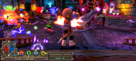 dungeondefendersps3screenshot1