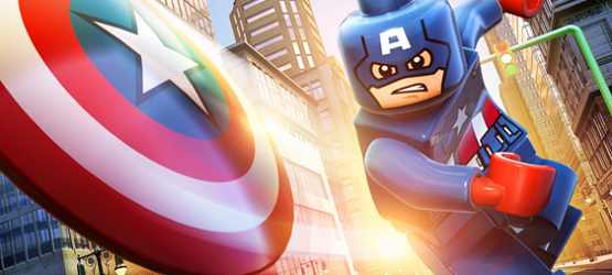 lego Captain america marvel