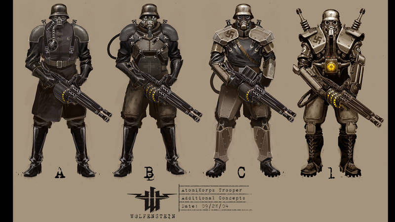 Wolfenstein The New Order Concept and Fan Art - PlayStation LifeStyle