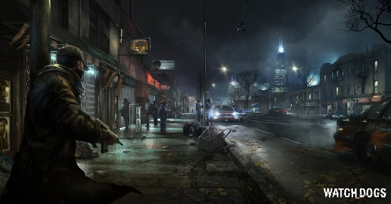 Watch_Dogs Concept and Fan Art - PlayStationLifeStyle | 1260 x 660 jpeg 134kB