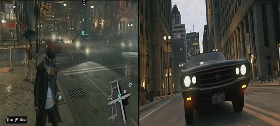 Watch Dogs comparison 3