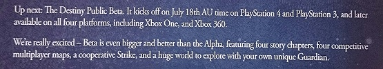 destiny beta email