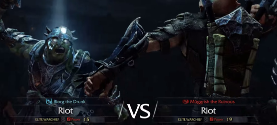 Shadow of Mordor VS