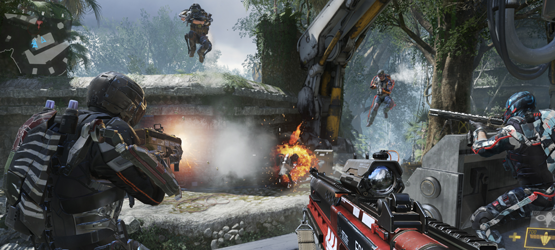 COD AW Review Screen