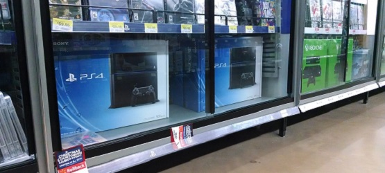 PS4 demo unit in action at Gamestop | Nintendo Forums