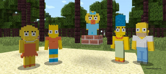 minecraftthesimpsons1
