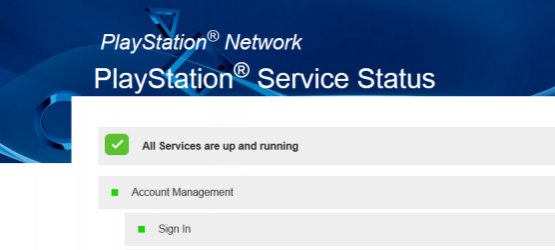 Replacing The Old Playstation Network Status Page That Mostly Only Told You If The Whole Network Was Online Or Offline Sony Has Introduced A New Psn Status