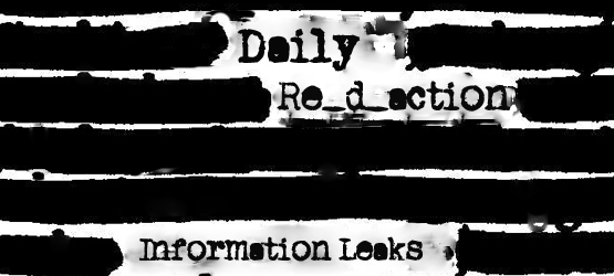 Daily-Reaction-Info-Leaks