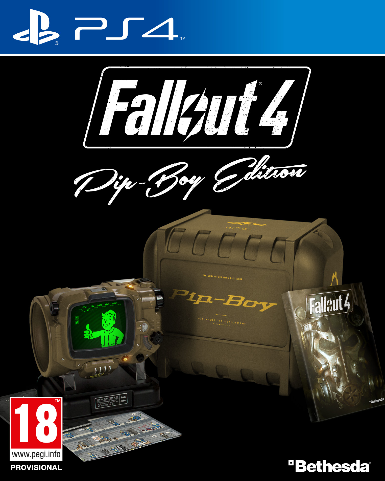 Case Design fall out boy phone case : E3 2015 - Fallout 4 Pip Boy Edition Full Details Revealed, Priced at $ ...