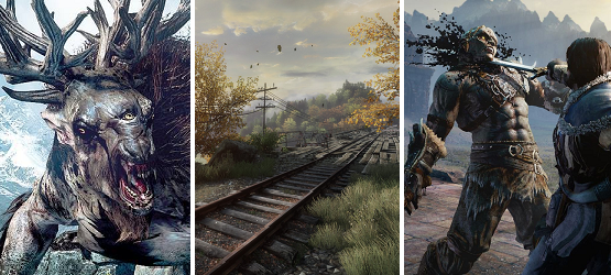 Weekend Gaming 7.18 vanishing of ethan carter witcher 3 shadow of mordor