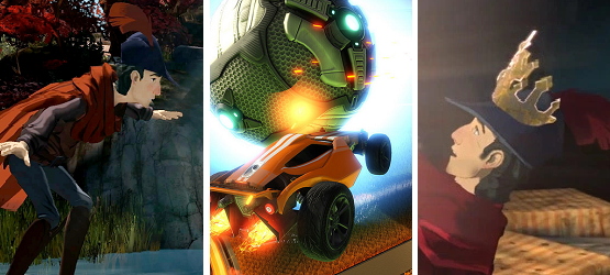 Weekend Gaming 8.1 king's quest rocket league