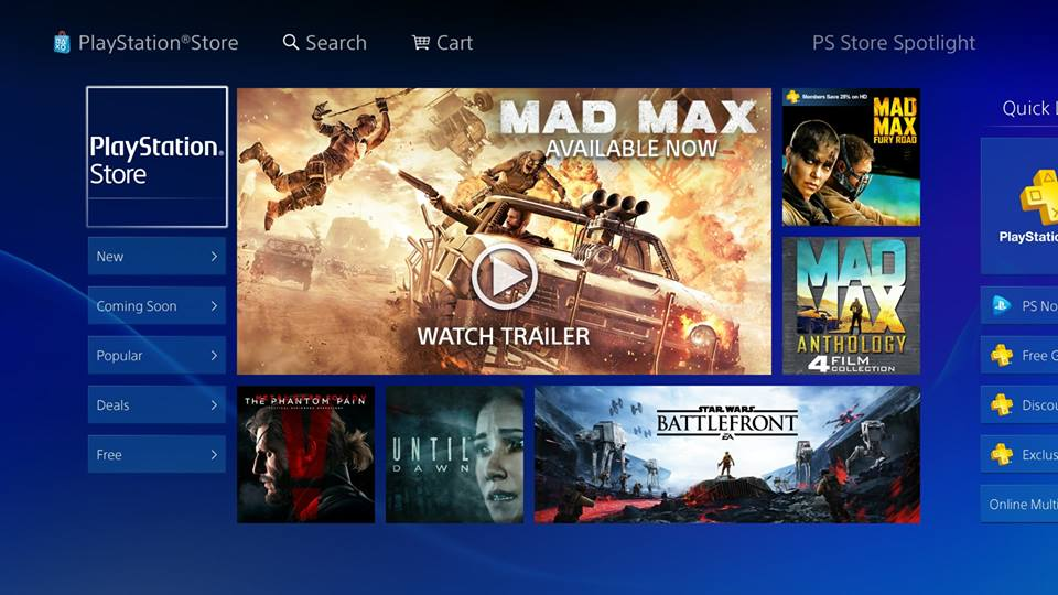 Store Ps4