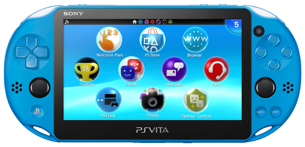 Aqua Blue PS Vita Coming Exclusively to GameStop in the United States This November (Update)