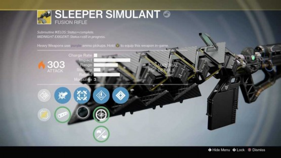 Sleeper Simulant Gun Destiny