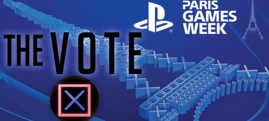 theVOTE sony paris games week 2015 pgw 2015