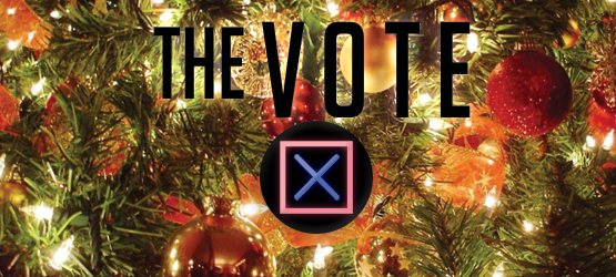 The Vote playstation Christmas
