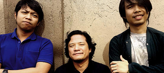 Left to Right: Lito Jadormeo (Technical Director), Paul Quiambao (VP-Operations and Art Director), Mike Marifosque (Senior Animator)