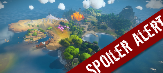 Spoiler Alert – The Witness Ending and Secret Credits Room