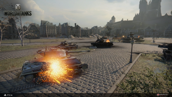 World of Tanks ps4 1
