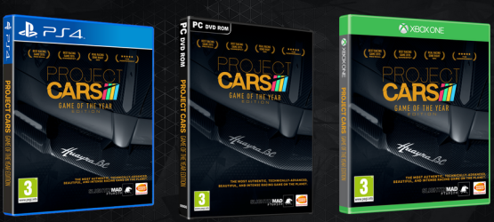 Project CARS Game Of The Year Edition Release Date Revealed For PS4 Xbox One PC