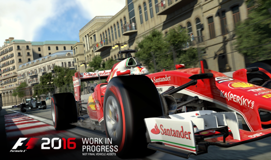 F1 2016 Game Set for Summer 2016 Release on PS4, Xbox One & PC