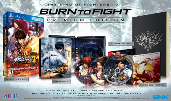 king of fighters xiv premium edition