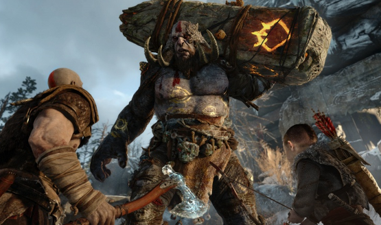 God of War PS4 E3 2016 Preview - Norse Mythology Kratos