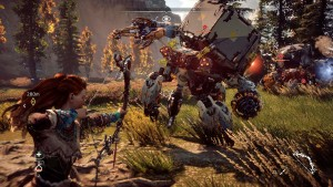Horizon Zero Dawn Gameplay 555x328