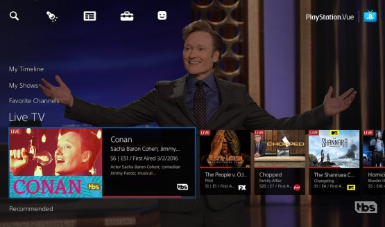 PlayStation Vue is Now Available on Apple TV