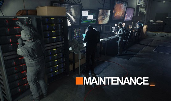 The Division maintenance
