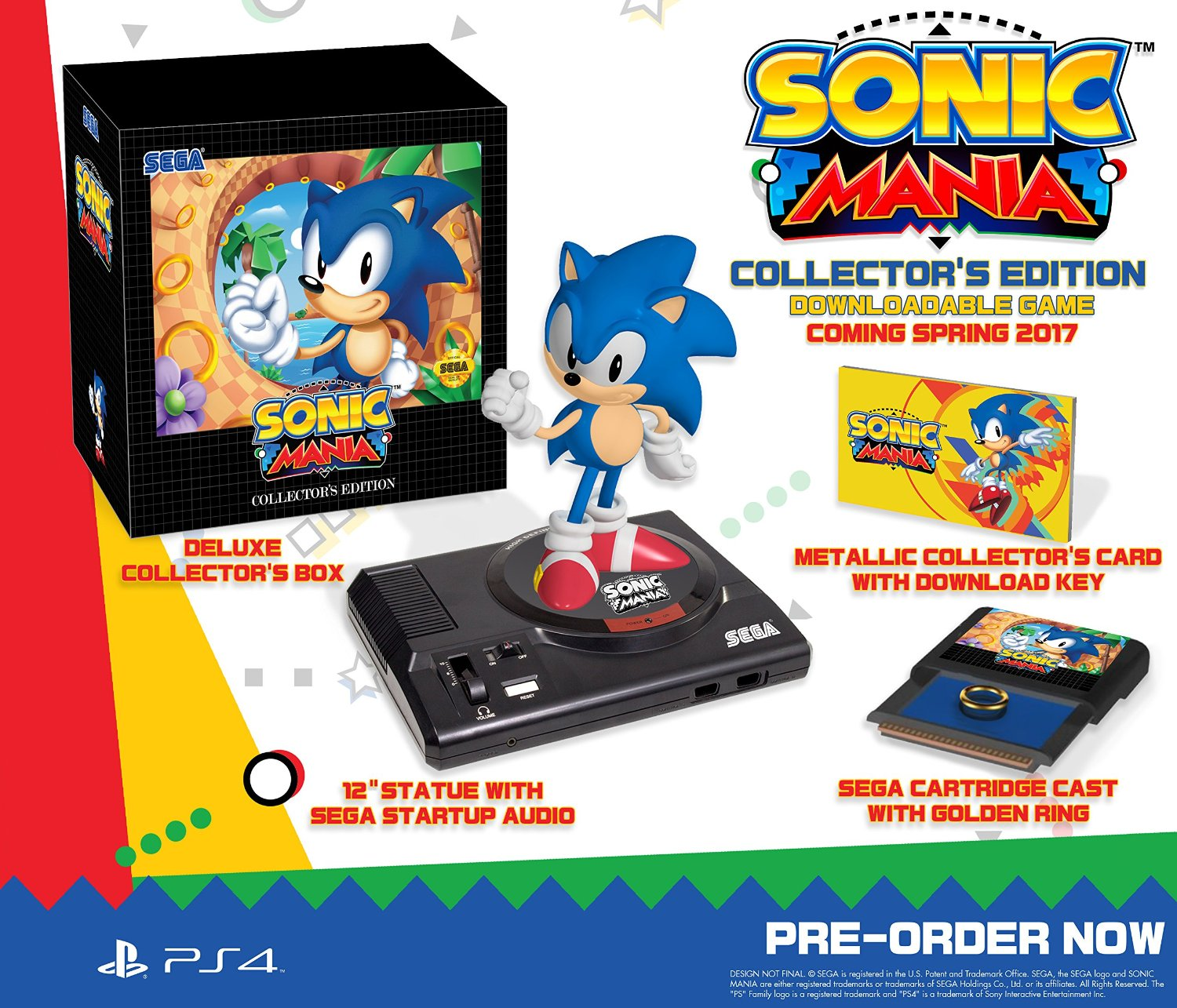 Sonic Mania's Collector's Edition is the best Collector's Edition I've ever seen