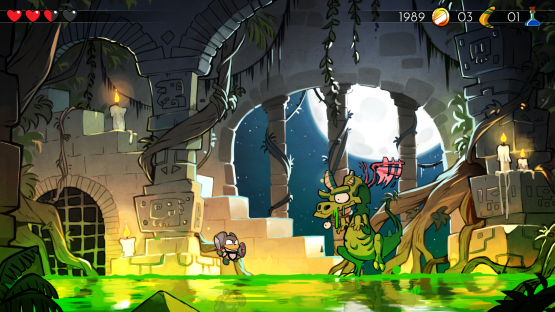 PSX 2016 ? Wonder Boy: The Dragon?s Trap Preview ? Labor of Love (PS4)
