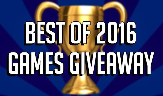 Best of 2016 Games Giveaway!