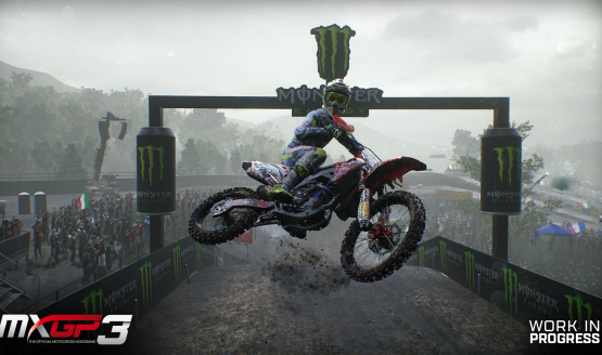 MXGP3: The Official Motocross Videogame Announced for PS4, Xbox One & PC