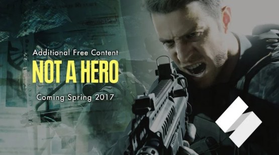 Chris Redfield Explodes Zombie Heads in the Not a Hero DLC Trailer