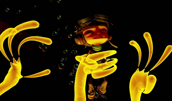 Psychonauts in the rhombus of Ruin review 3