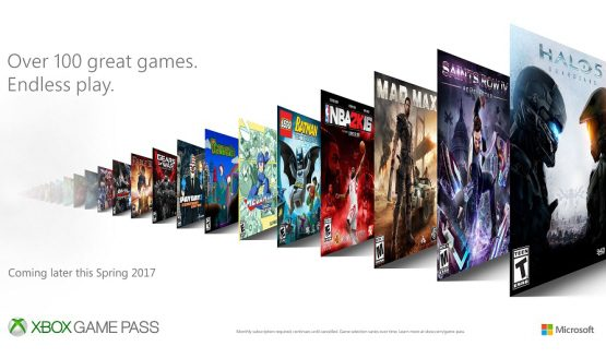 Microsoft Reveals Xbox Game Pass, A New Subscription Service for Xbox One