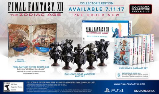 Final Fantasy XII: The Zodiac Age Collector's Edition Detailed
