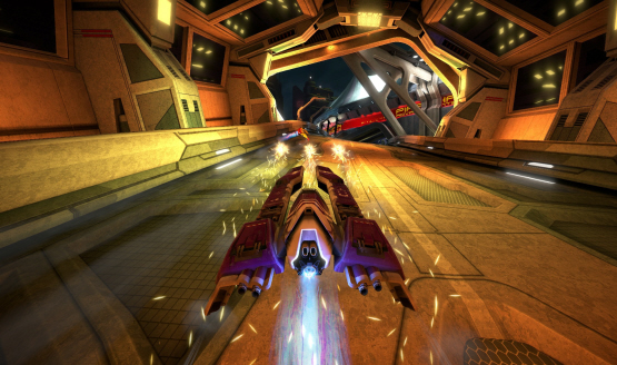Check Out Some New WipEout Omega Collection Splitscreen Gameplay