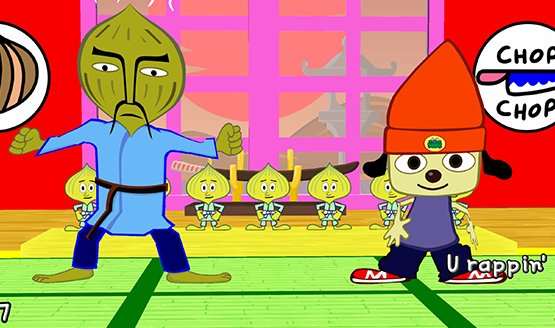 PaRappa the rapper Remastered Review 1