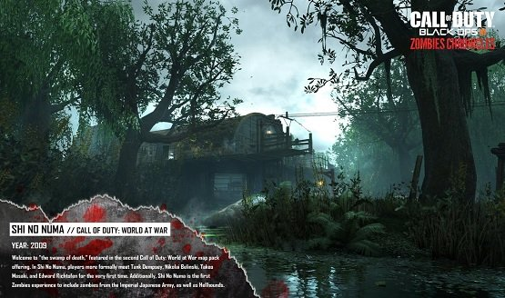 Take Another Look at Some of CoD Zombies Chronicles Maps on